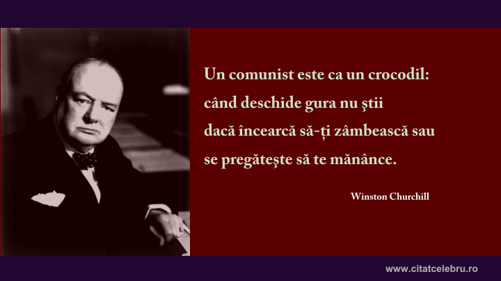 winston churchill despre comunisti