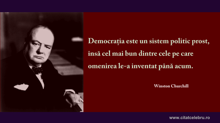 winston churchill democratia