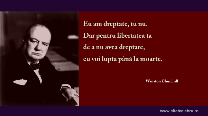 winston churchill dreptate