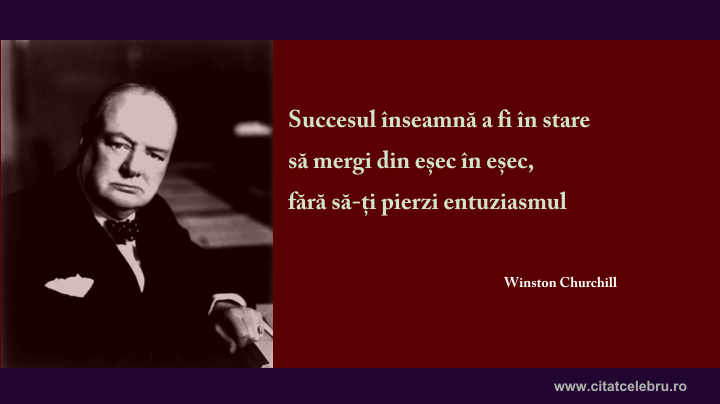 winston churchill succesul