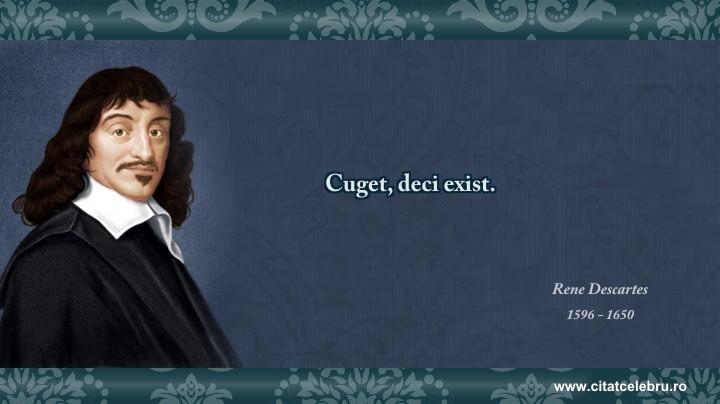 Rene Descartes - despre intelepciune