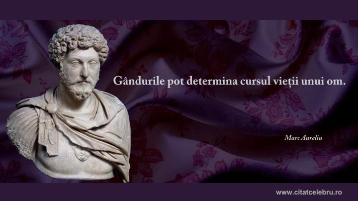 marcus aurelius despre cursul vietii