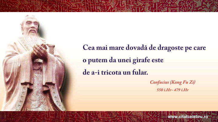 Confucius - despre dragoste