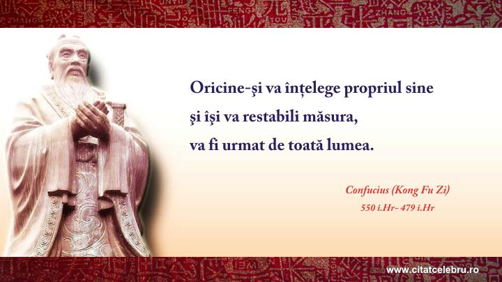 Confucius - despre lideri