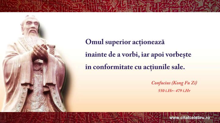 Confucius - despre omul superior