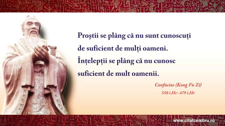 Confucius - despre relatii
