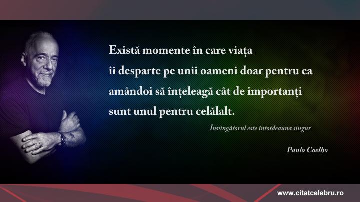 Paulo Coelho - despre despartire