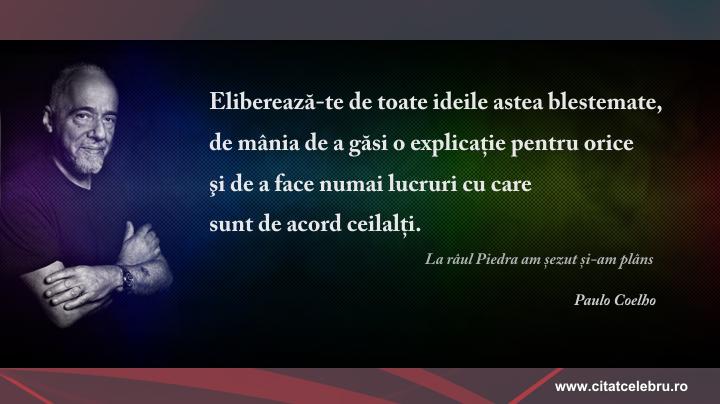 Paulo Coelho - despre eliberare