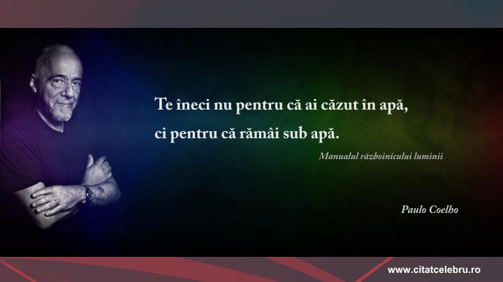 Paulo Coelho - despre motivatie