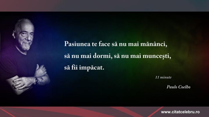 Paulo Coelho - despre pasiune