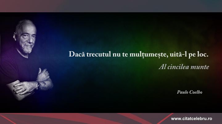 Paulo Coelho - despre trecut