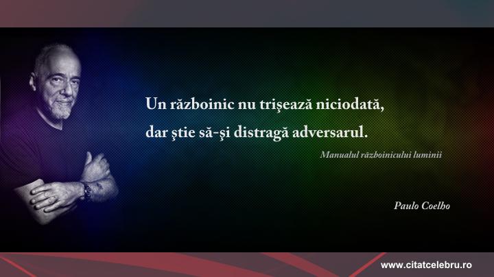 Paulo Coelho - despre trisare
