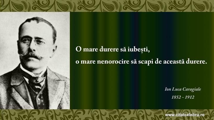 Ion Luca Caragiale - despre iubire