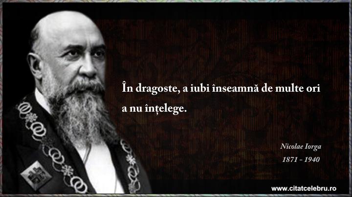 Nicolae Iorga - despre dragoste