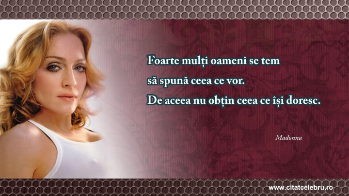 citate celebre despre reusita in viata Citat Celebru » Madonna citate celebre despre reusita in viata